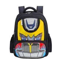 Colorful Oxford Boys Pupil Preppy Style Book Bag Personalized Vintage Car-shaped Zipper Kids School Campus Backpack