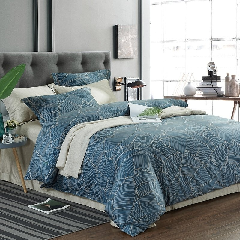 hipster dark blue and khaki geometric pattern abstract unique full queen size bedding sets. Black Bedroom Furniture Sets. Home Design Ideas