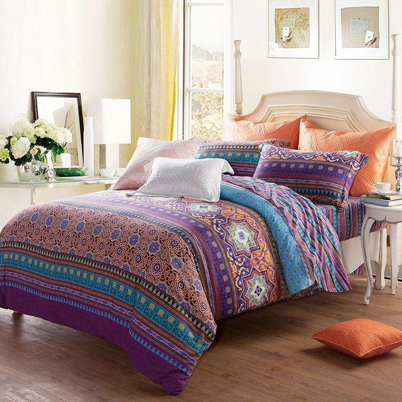 Orange And Gold Bedding - Home Ideas