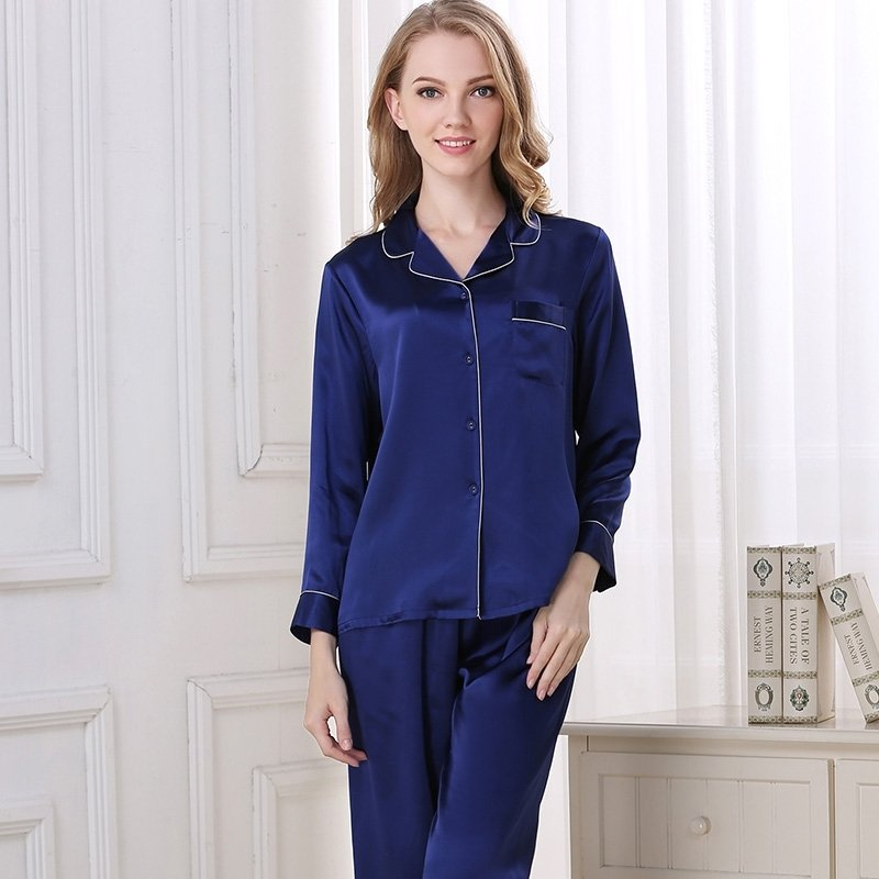 Diamond blue 100 asian silk 2 pieces long t shirt and for Diamond and silk t shirts