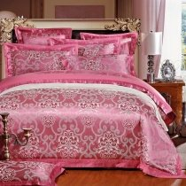 Flirt Color and Silver Gothic Pattern Indian Tribal Pattern Moroccan Style Western Style  Jacquard Fabric Full, Queen Size Bedding Sets
