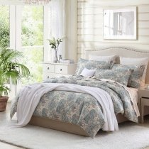 Mexican Inspired  Shabby Chic Bohemian Paisley Pop Full, Queen Size Bedding Sets