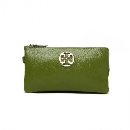 Gorgeous Army Green Genuine Cowhide Leather Women Casual Party Evening Clutch Wallet Hipster Sewing Pattern Sequin Coin Purse Wristlet