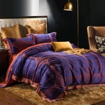 Mid Century Luxury Royal Style Full, Queen Size Bedding Sets