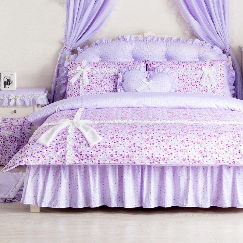 Elegant Purple White And Yellow Star