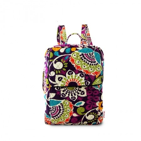 Vintage Bohemian Moroccan Tribal Print Flap School Book Bag Durable Foldable Canvas Personalized Floral Women Travel Backpack