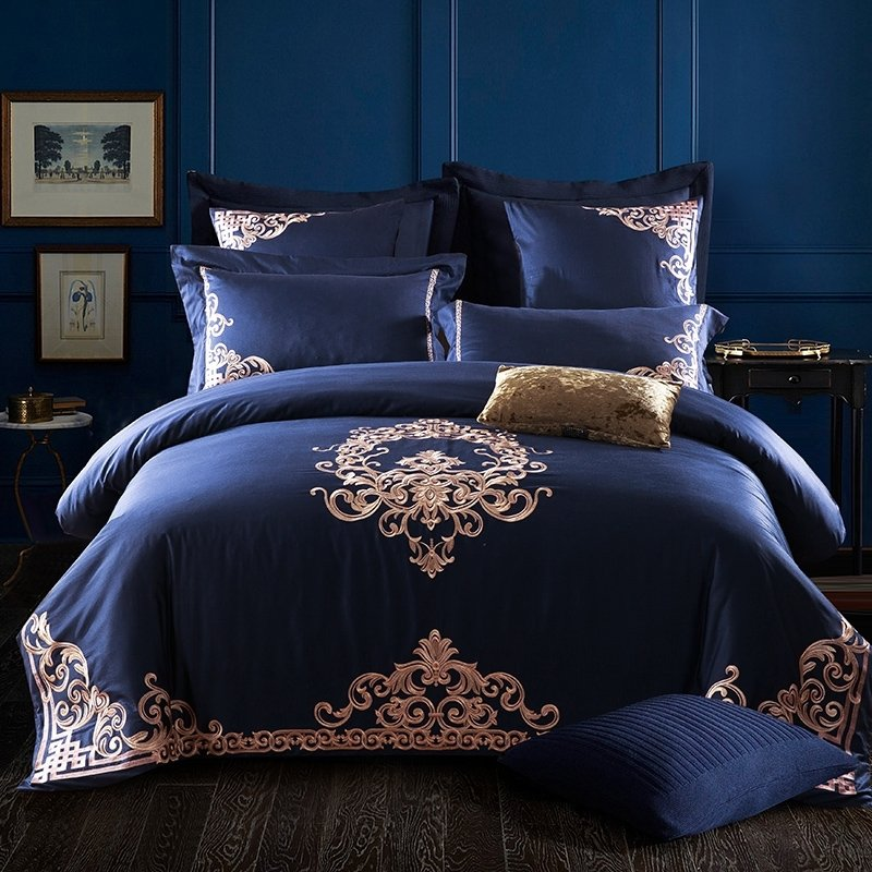 Royal Blue And Gold Bedding Bedding Designs