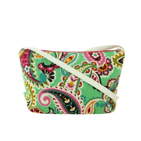 Stylish Canvas Colorful Western Paisley Pop Women Small Makeup Bag Personalized Bohemian Casual Party Diamond Crossbody Shoulder Bag