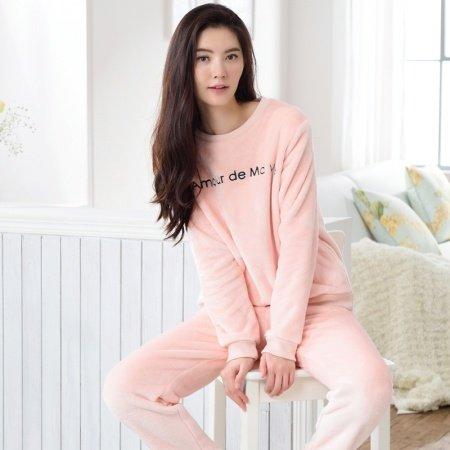 Pink Simply Chic Winter Pajamas