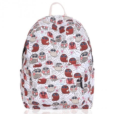 Hipster Burgundy Red and White Canvas Kids Preppy School Backpack Personalized Spirit Print Anti Theft Zipper Junior Campus Book Bag