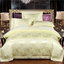 Sparkle Solid Beige Flower Pattern Sophisticated Elegant Modern Country Chic Girls Full, Queen Size Bedding Sets