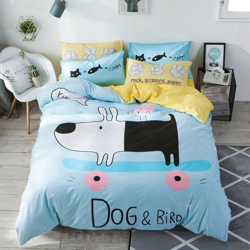 Kids Teen Girls Boys Cute Dog Farm Animal Twin Full Size Bedding Sets Enjoybedding Com