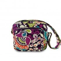 Durable High Fashion Canvas Boutique Small Box-shaped Shoulder Bag Colorful Floral Bohemian Moroccan Themed Women Crossbody Bag