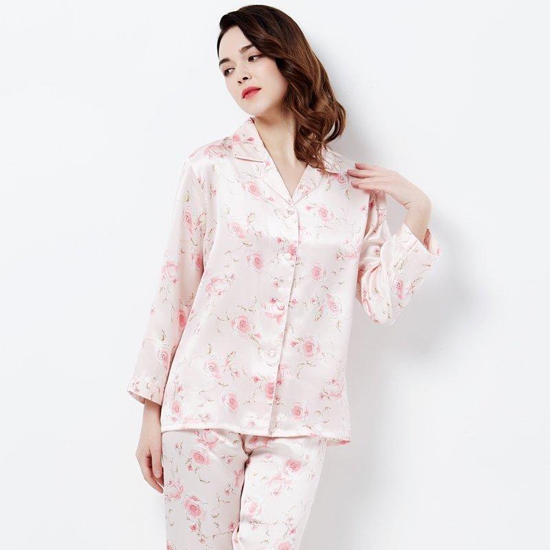 100% Pure Silk Pajamas for Women