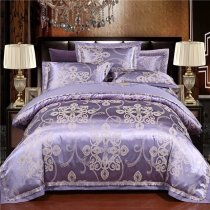Stylish Slate Blue and Silver Fancy Indian Tribal Pattern Modern Bohemian Style Luxury Full, Queen Size Bedding Sets