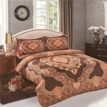 Gypsy BOHO Style Mandala Pattern Vintage Full, Queen Size Bedding Sets